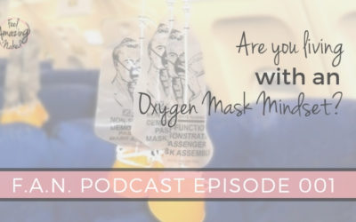 Are you living with your oxygen mask on?