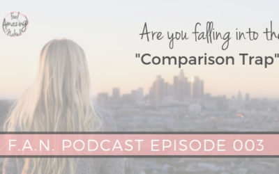 Are you stuck in the comparison trap?