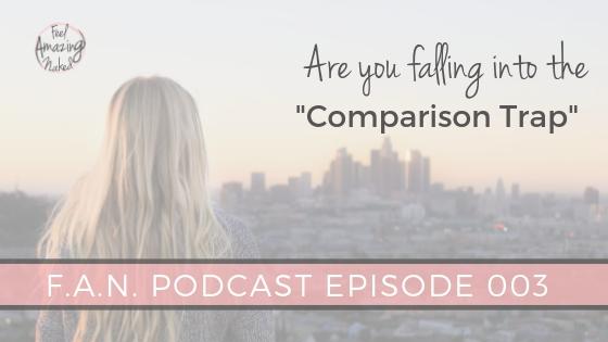 Are you stuck in the comparison trap?
