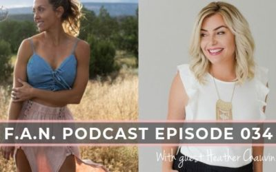 How to show up for yourself with Heather Chauvin