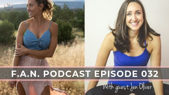 "Getting ""emotionally fit"" with Jen Oliver"