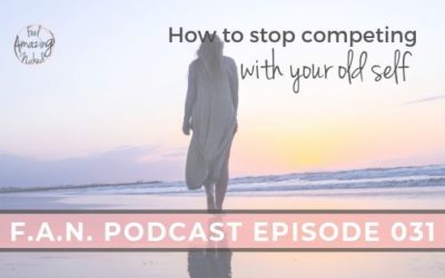 How to stop competing with your old self