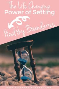 how to set health boundaries