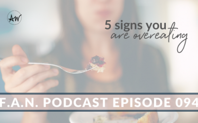 5 Signs You Are Overeating
