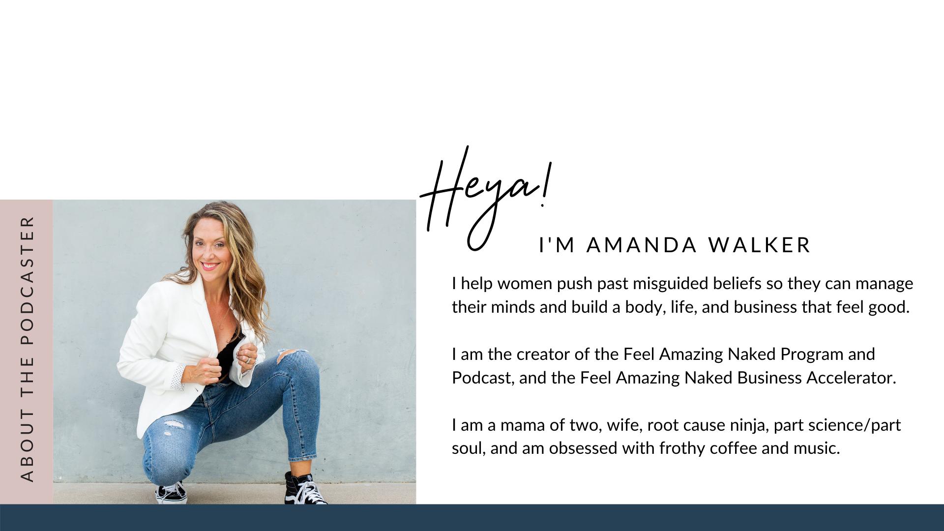 amanda walker business life health coach