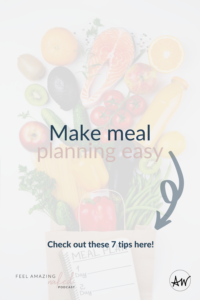 meal planning food