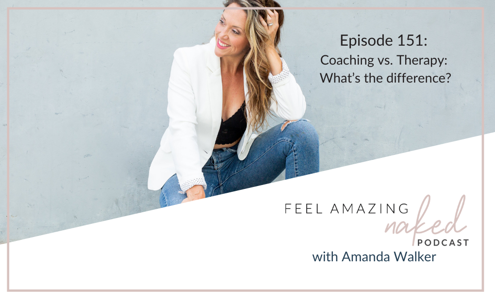 Coaching vs. Therapy: What's the difference?
